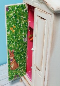 Armoire filled with Bunny Rabbits