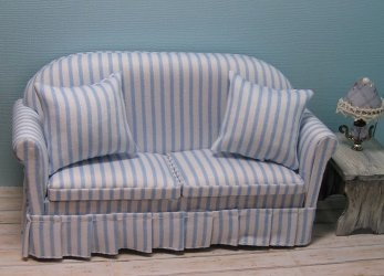 Sofe Blue and White Stripe