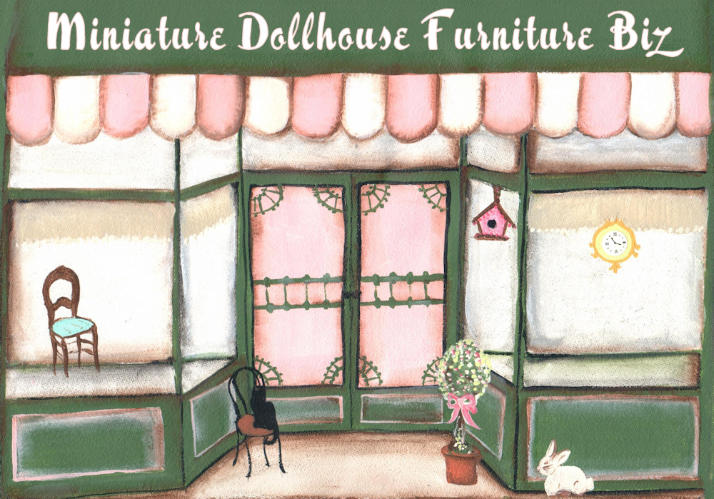 Miniature Dollhouse Furniture Biz